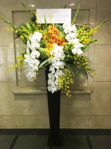 100000円のスタンド花
