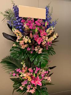 30000円のスタンド花