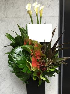 35000円のスタンド花