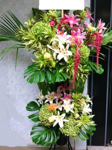 40000円のスタンド花