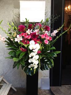 60000円のスタンド花