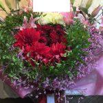 楽屋花、舞台祝い花アレンジメント