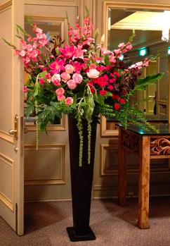 豪華な祝い花