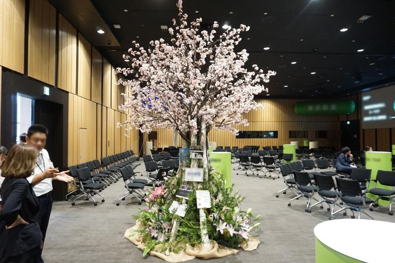 イベント装花施工5