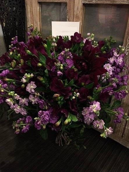 ストックの祝い花