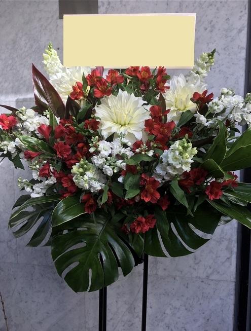 クリスマス時期のスタンド花