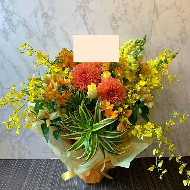 yellow_oiwai_flowerarrangement